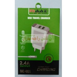 MAAZ Heavy Duty MC-001 Smart Mobile Charger 2.4A