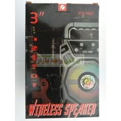Sound Magnifier KTS-1087 Wireless Mp3 Speaker