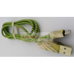 Cotton Skin Metal Head Strong & Powerful Data Cable 8600