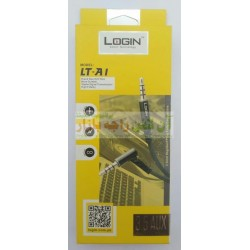 Login High Fidelity 3.5mm AUX Cable LT-A1