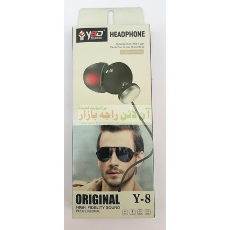 YSD High Fidelity Sound Curved Hands Free Y-8