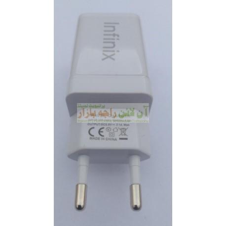 Infinix Square Cube Dual USB Port Adapter 2.0A