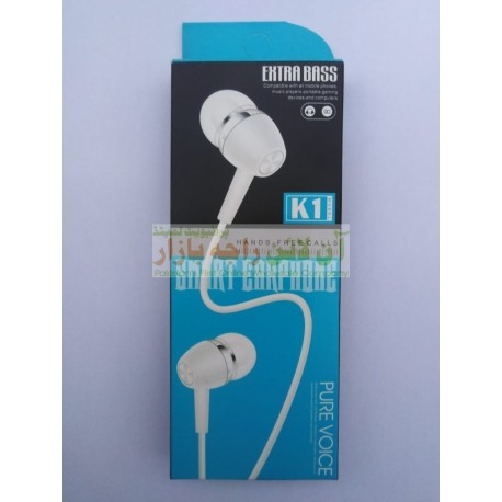 K-1 Extra Bass Pure Voice Smart Hands Free