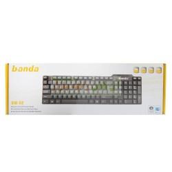Stylish BanDa Reliable & Soft Touch USB Keyboard