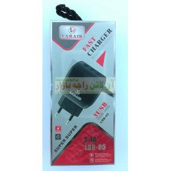 Laraib Super Speed 3-USB Fast Charger 2.4A