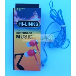 HiLinks Super Bass Universal Hands Free For Calls & Music