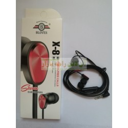 BLOVES Music Expert Stereo Hands Free X-8