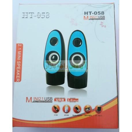 Trending HT-058 Multimedia Computer Speakers