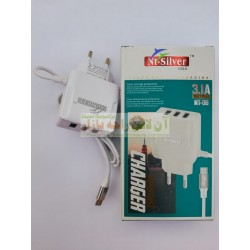 NT Silver 3.1A Charger Micro 8600 NT-06
