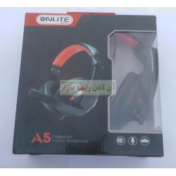 ONLITE Soft Grip Computer Gaming Headphone A5