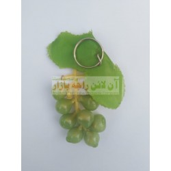 Pack of 12 Soft Grapes Fruit Key Chain (12 Pieces)