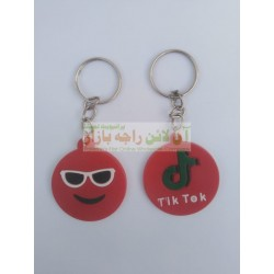 Pack of 12 TikTok KeyChains Rubber Build (12 Piece)