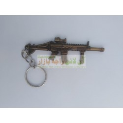 Pack of 12 Rifle Gun Key Chain (12 Pieces)