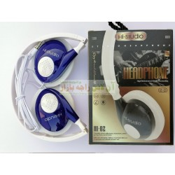 Hi-Studio Stylish Mic Supported Hi-02 HeadPhone for PC & Mobile