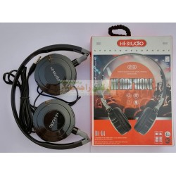 Hi-Studio Stylish Mic Supported Hi-01 HeadPhone for PC & Mobile