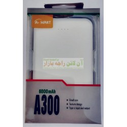 A-Mart Super Quality Durable 6000mah Power Bank