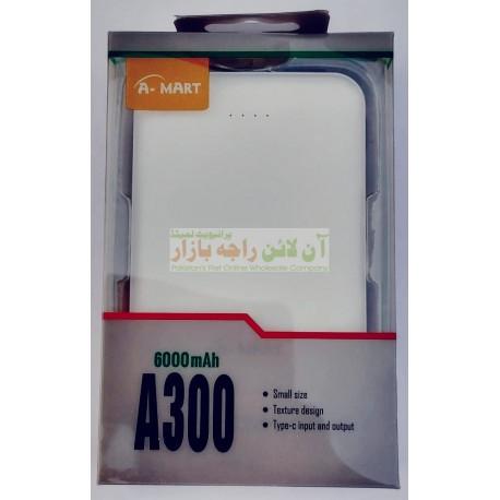 A-Mart Super Quality Durable 6000mah Power Bank