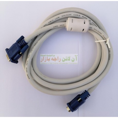 PowerFull Quality 3 Meter Long VGA Cable for PC
