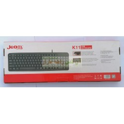 Jedel Soft Button K-11 Sharp Grip USB KeyBoard