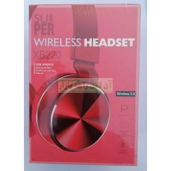 Super Bass Stylish Wireless Headset XB-220