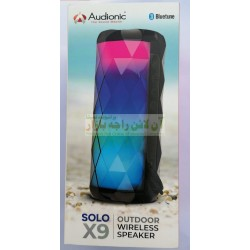 Audionic Colorful Lights BlueTune Wireless Speaker Solo X-9