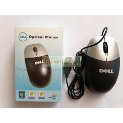 DELL Strong Wire Soft Click Optical Mouse