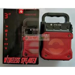 Metal Grill Bluetooth Wireless Speaker KTS 1092