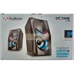 Audionic Compact Size Angled Design Stylish Computer Speaker Octane U-30