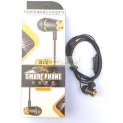 Extra Bass Universal Stereo Sound Hands Free D-12