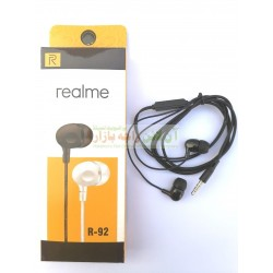 Realme Extra Bass Stylish Stereo Hands Free R-92
