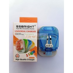 S.S Bright 3-Light Safe & Strong Multi Charger