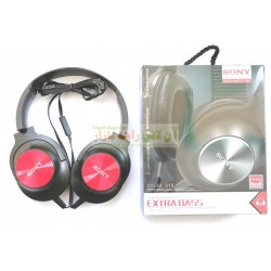 Sony Extra Bass Universal HeadPhone with Mic H-11/T450