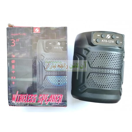 Thunder Bass Wireless MP3 Speaker KTS-1276 with Mobile Stand