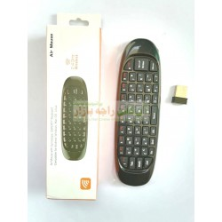 Air Mouse Stylish Mini Wireless Qwerty KeyBoard for Mobile & PC