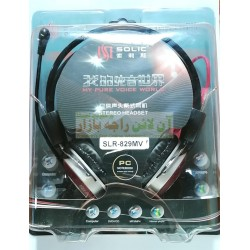 SOLIC Pure Voice Computer Headphone With Mic SLR-829