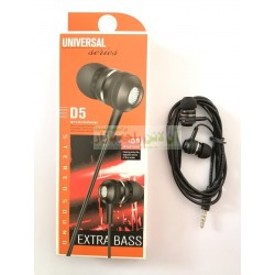 Stylish Head Super Bass Universal stereo Hands Free D5