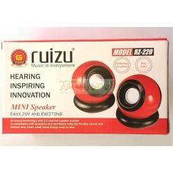 Ruizu 3D Sound Technology Super Bass Mini Computer Speaker RZ-220