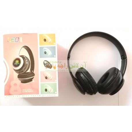 Luminous Smart Sound Extra Bass Lightning Wireless Headphone