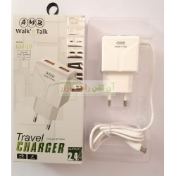 AMB Dual USB 2.4A Fast Travel Charger 8600 NM-10