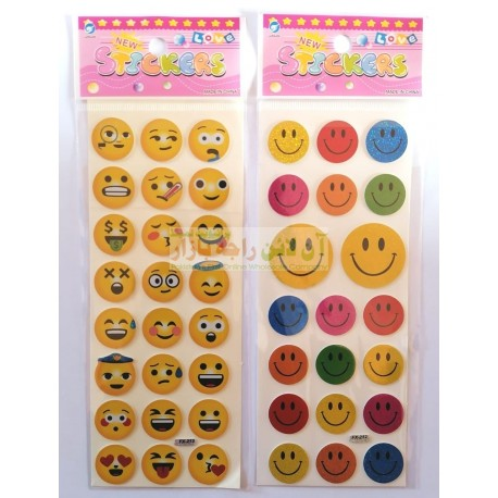 Smiley Faces Mobile & LapTop Stickers