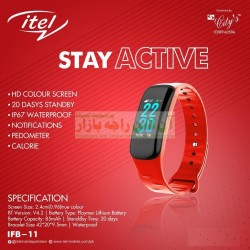 itel Original Stay Active with Pedometer Smart Watch IFB-11