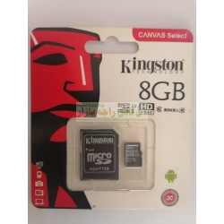 Kingston SD Memory Card 8GB