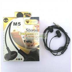 G-Golden Super Bass Stereo Handsfree M-5