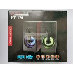 Prime Usb Compact Design Multimedia Computer Speaker FT-170