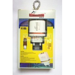 NT-Power Gold 2USB Quick Charger 2.1A NT-095