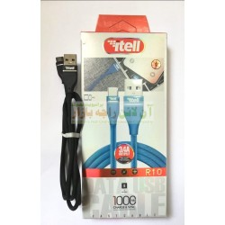 iTell Metal Head Strong Grip 1000mm Type-C Data Cable R-10