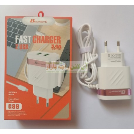BloomBerg Auto iD Smart Type-C Charger G-99