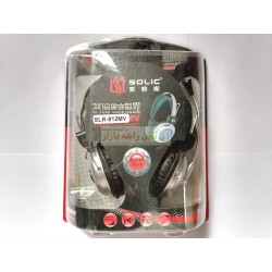 Solic Pure Voice Computer Headphone with Mic SLR-812