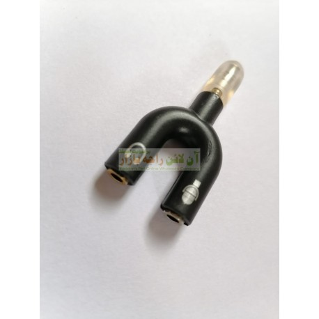 Dual Option Aux Connector for Mic & Headphone Same Time