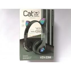 Cool Cat Hifi Stereo Sound Wireless Headphone VZV-23M